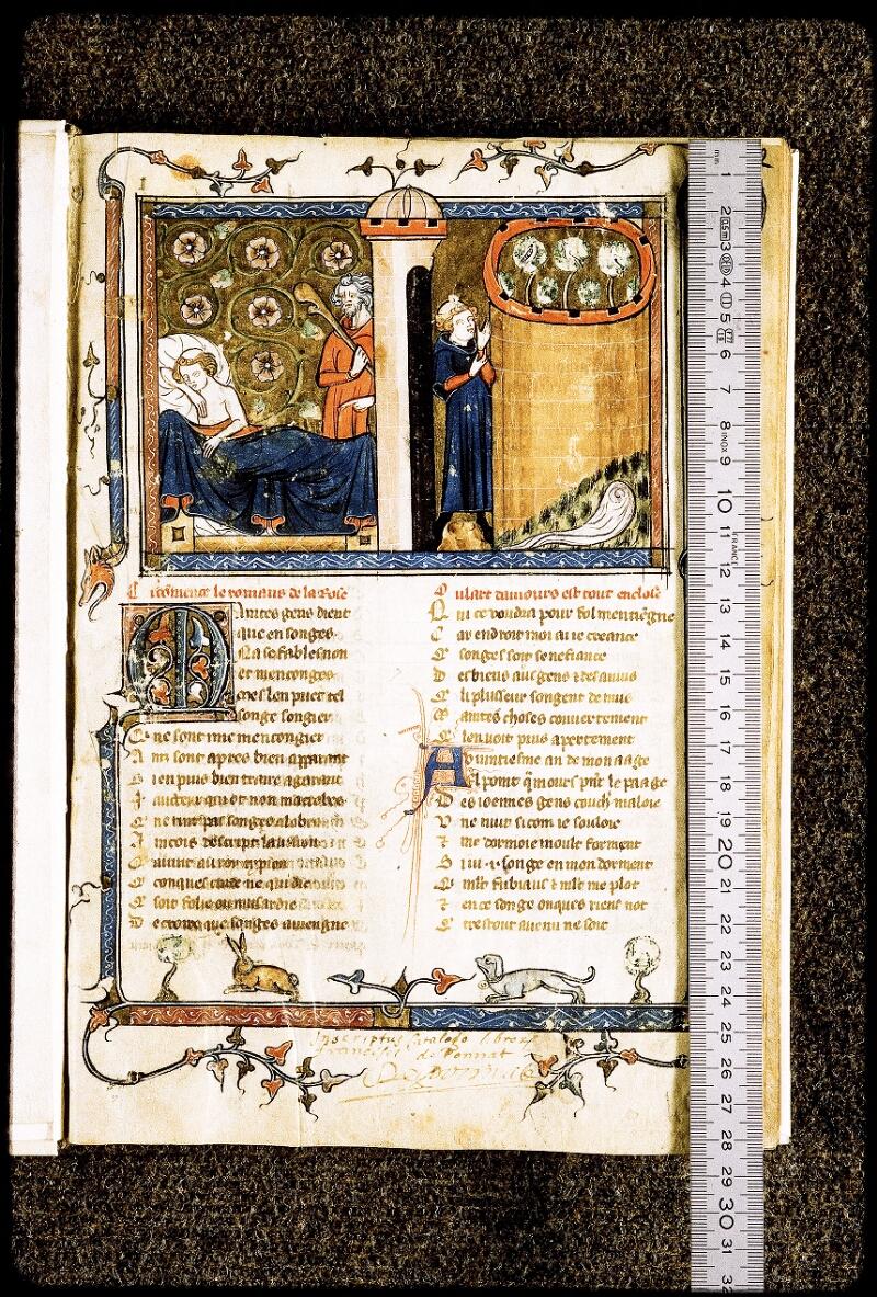 Lyon, Bibl. mun., ms. Palais des Arts 023, f. 002 - vue 1
