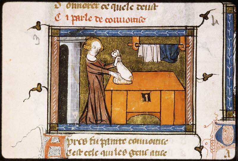 Lyon, Bibl. mun., ms. Palais des Arts 023, f. 003v - vue 1