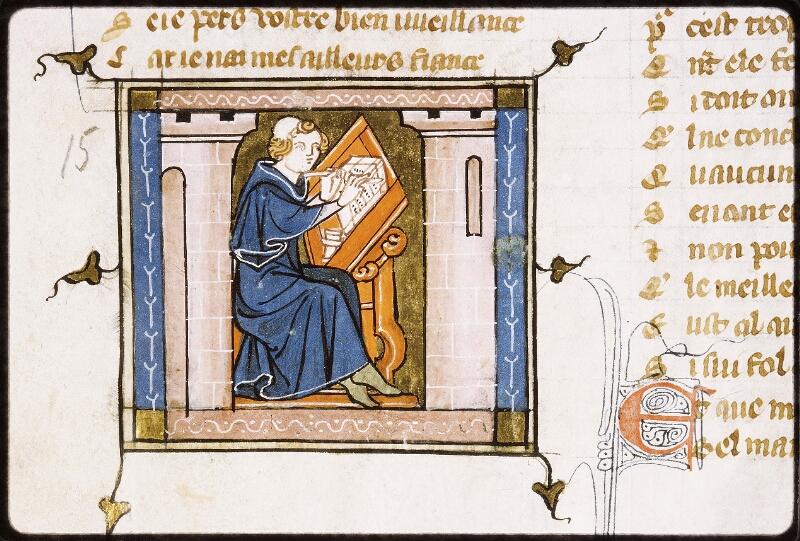 Lyon, Bibl. mun., ms. Palais des Arts 023, f. 030 - vue 2
