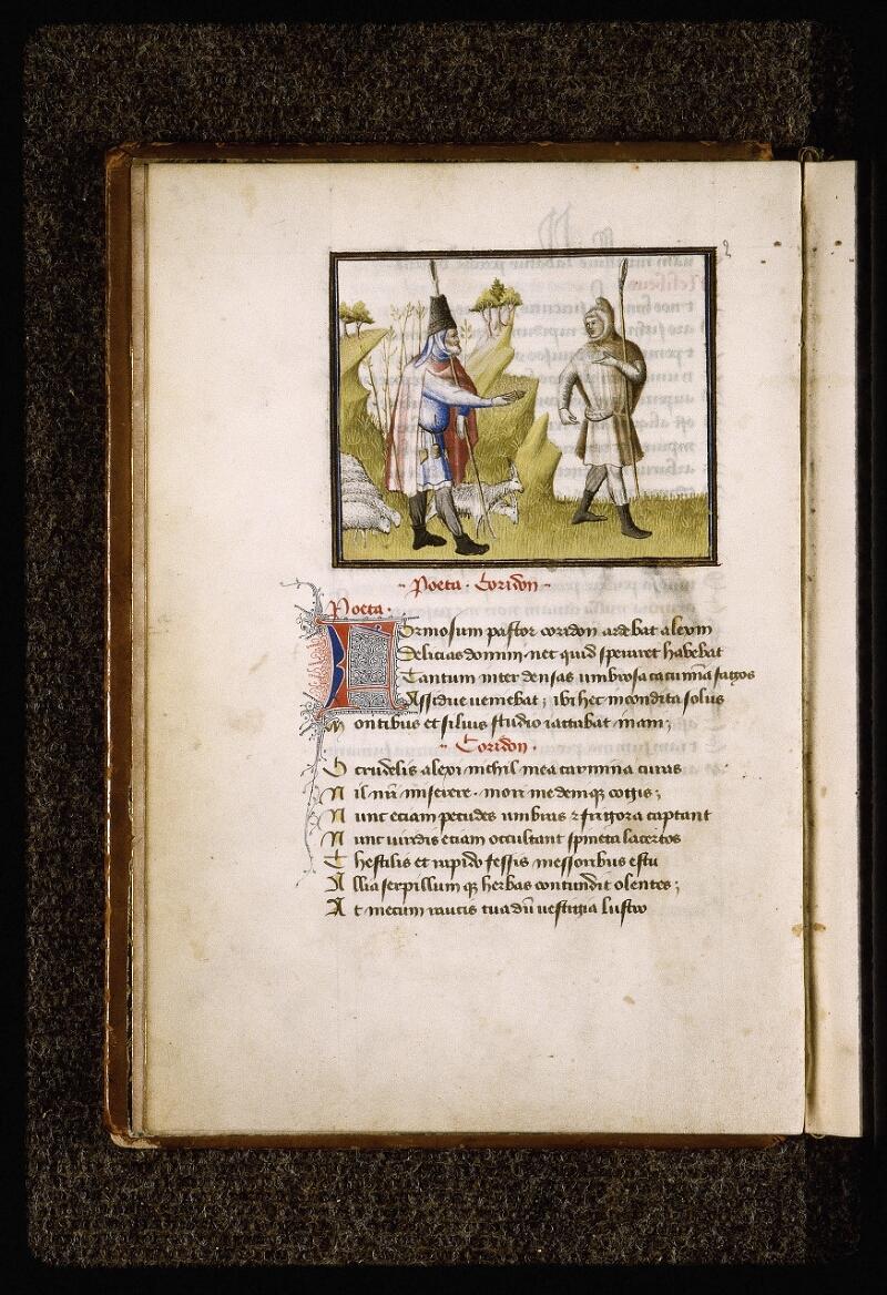 Lyon, Bibl. mun., ms. Palais des Arts 027, f. 003v - vue 1