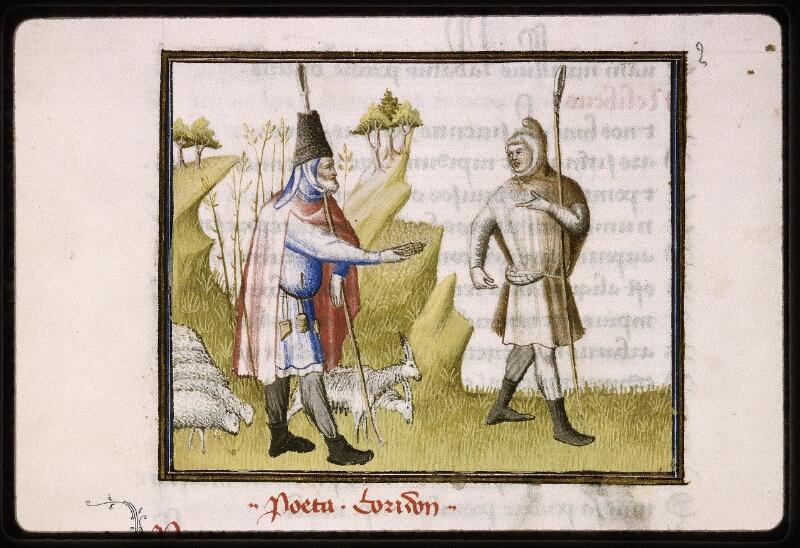 Lyon, Bibl. mun., ms. Palais des Arts 027, f. 003v - vue 2