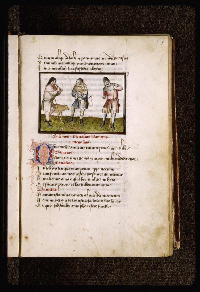 Lyon, Bibl. mun., ms. Palais des Arts 027, f. 005 - vue 1