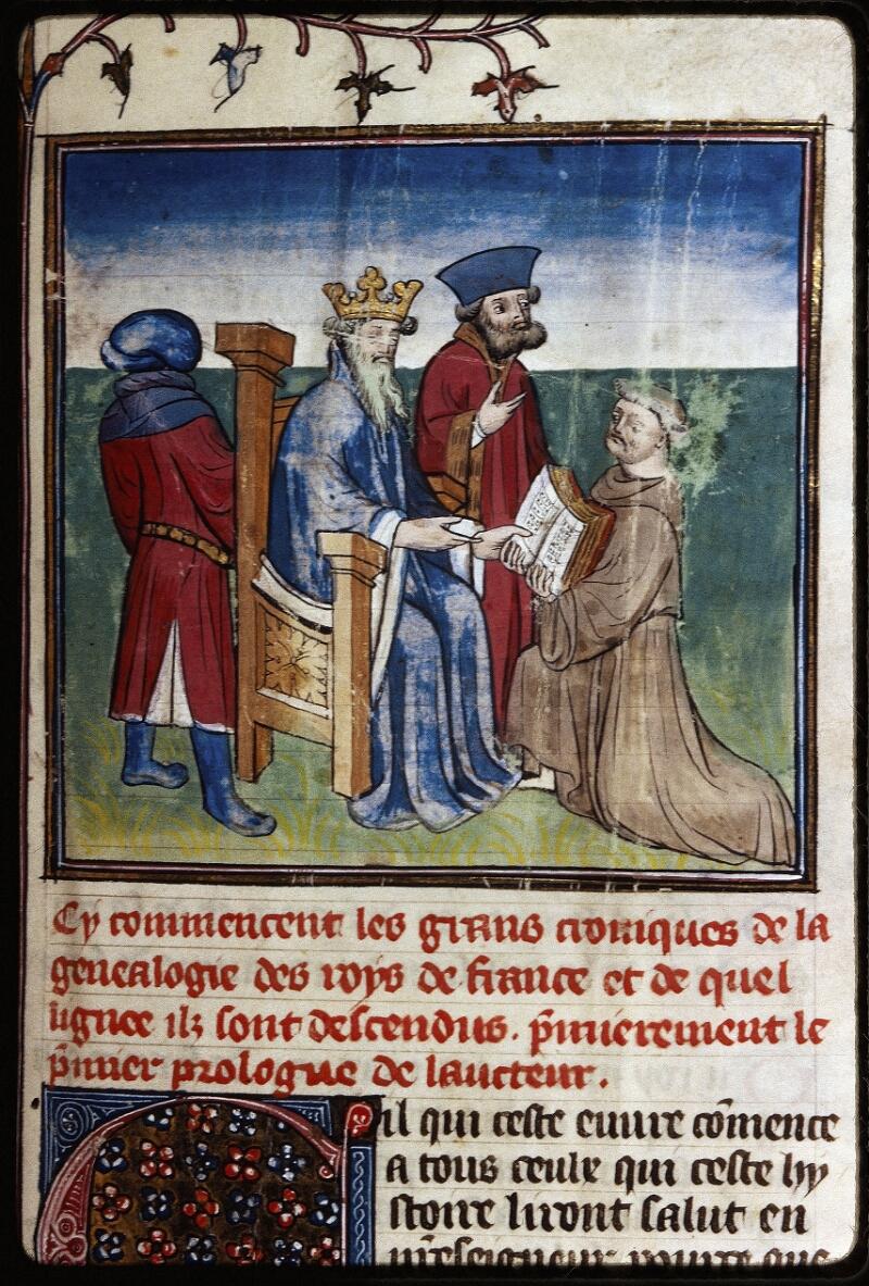 Lyon, Bibl. mun., ms. Palais des Arts 030, f. 001 - vue 2