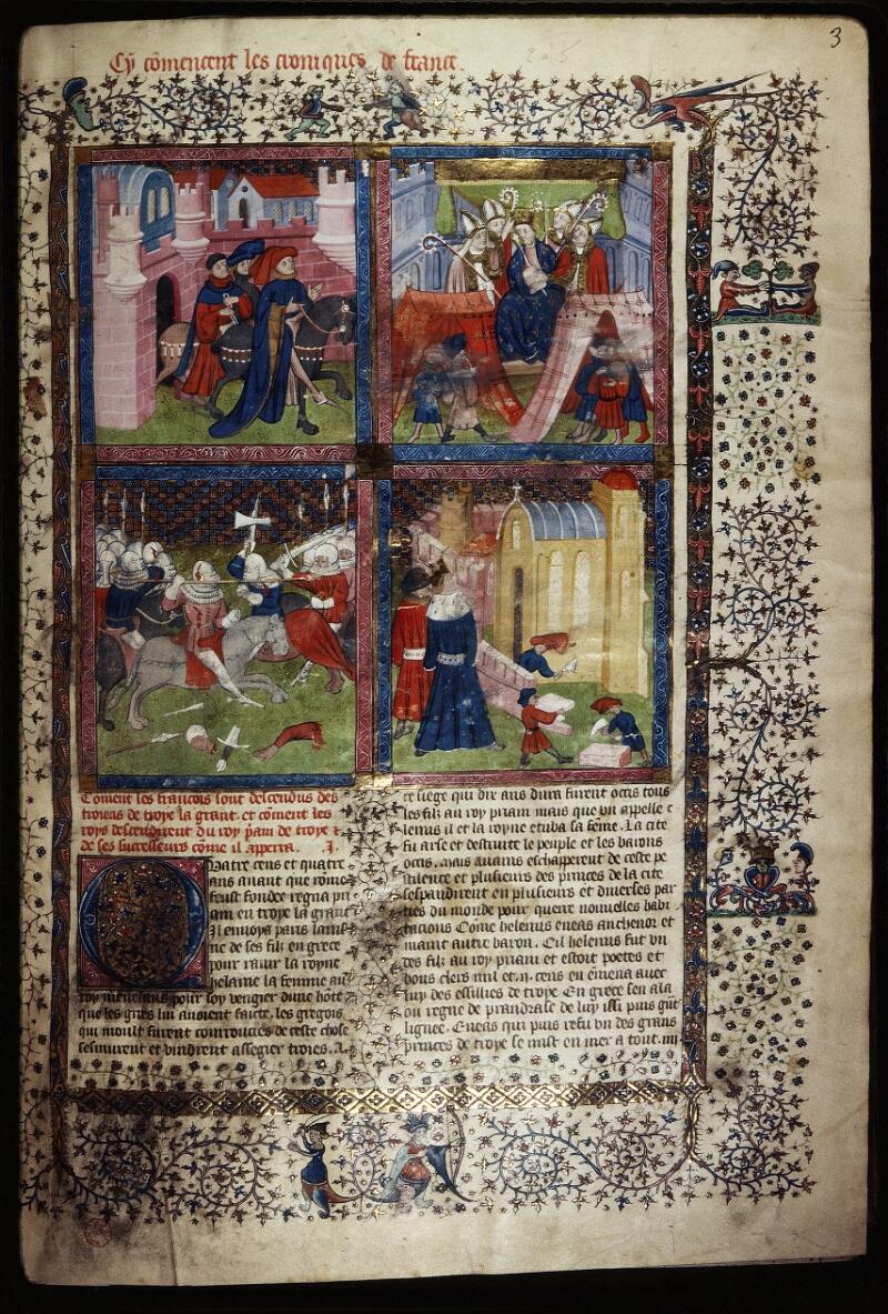 Lyon, Bibl. mun., ms. Palais des Arts 030, f. 003 - vue 1