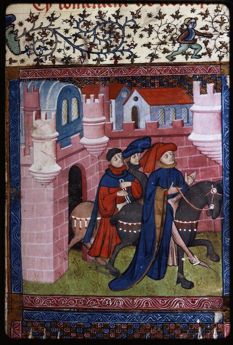 Lyon, Bibl. mun., ms. Palais des Arts 030, f. 003 - vue 2