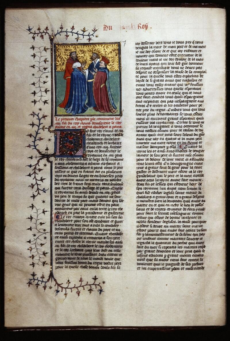 Lyon, Bibl. mun., ms. Palais des Arts 030, f. 014v - vue 1