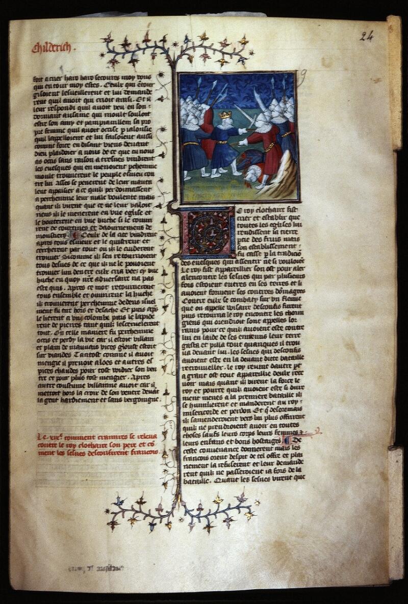 Lyon, Bibl. mun., ms. Palais des Arts 030, f. 024 - vue 1