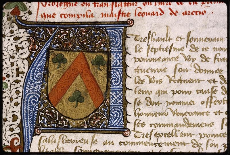 Lyon, Bibl. mun., ms. Palais des Arts 031, f. 002 - vue 3