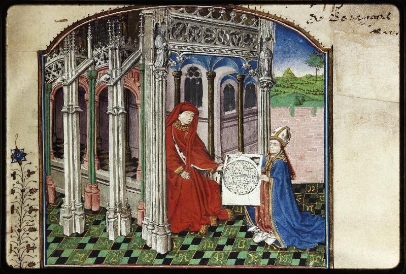Lyon, Bibl. mun., ms. Palais des Arts 032, f. 001 - vue 2