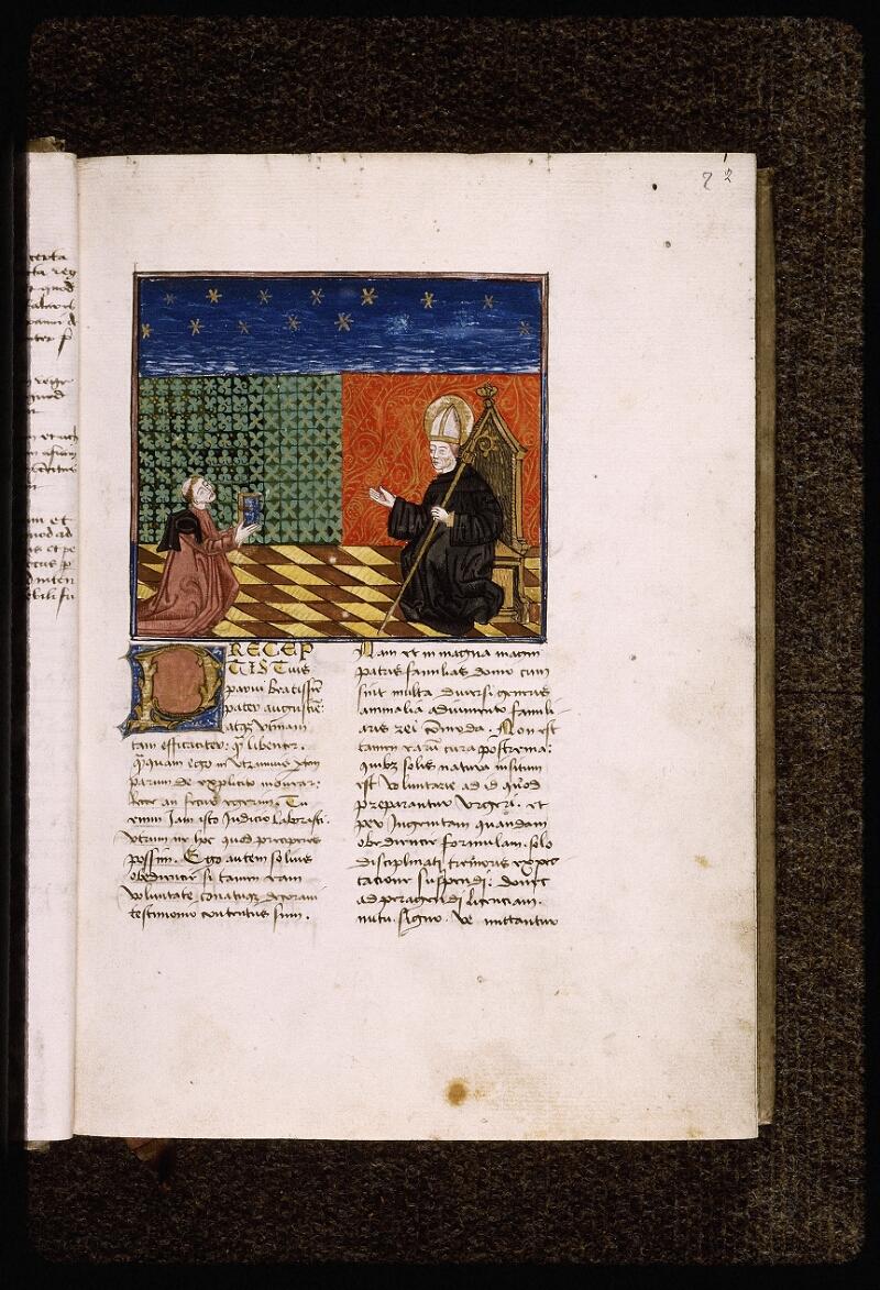 Lyon, Bibl. mun., ms. Palais des Arts 034, f. 002 - vue 2