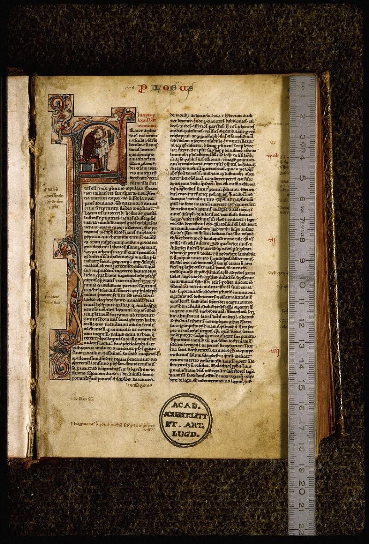 Lyon, Bibl. mun., ms. Palais des Arts 035, f. 001 - vue 1