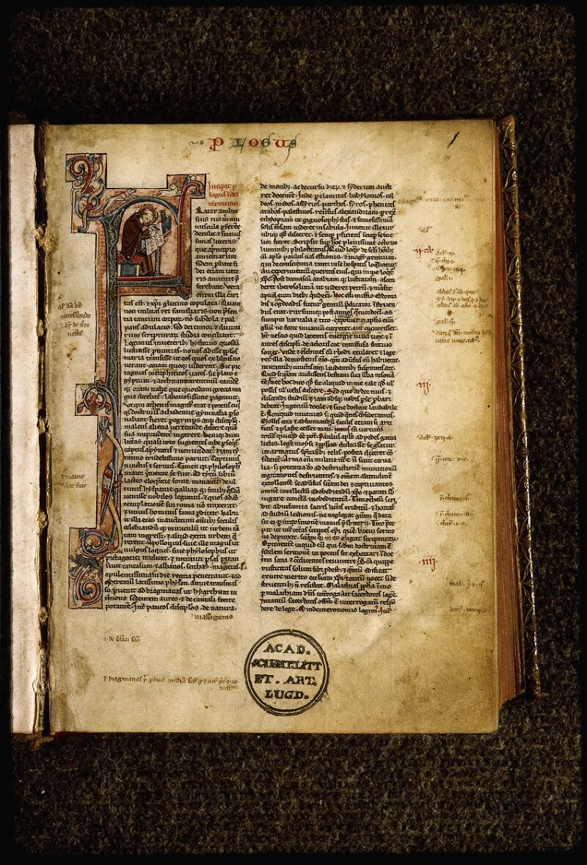 Lyon, Bibl. mun., ms. Palais des Arts 035, f. 001 - vue 2