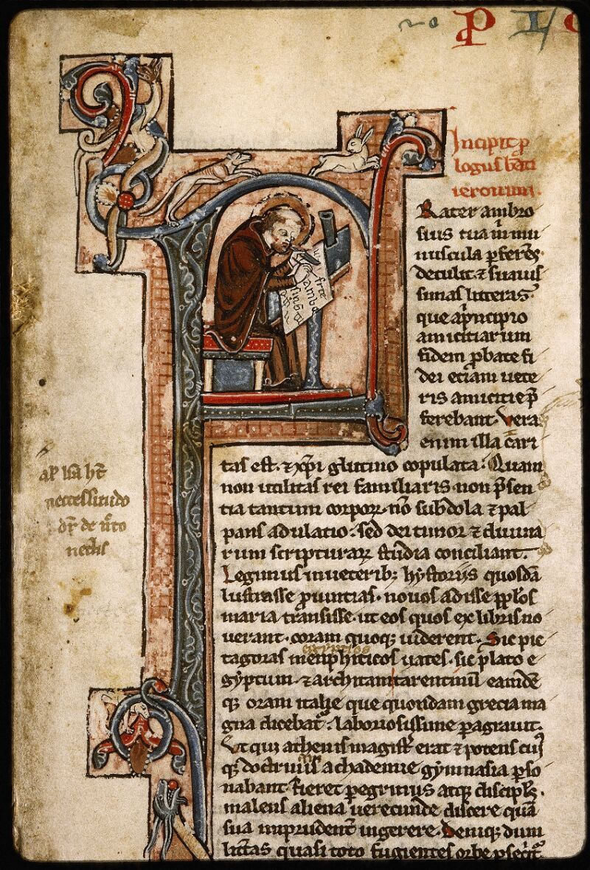 Lyon, Bibl. mun., ms. Palais des Arts 035, f. 001 - vue 3