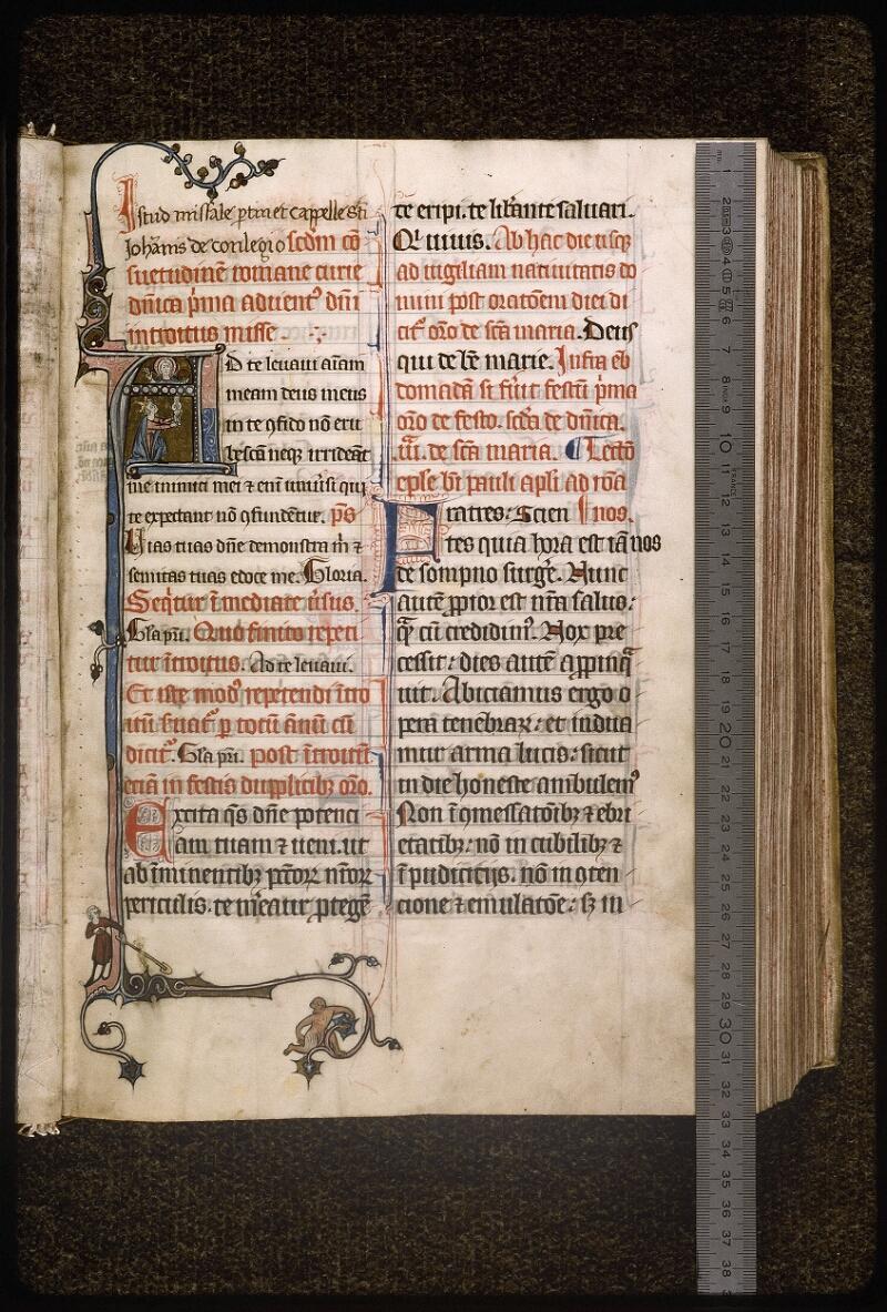Lyon, Bibl. mun., ms. Palais des Arts 037, f. 008 - vue 1