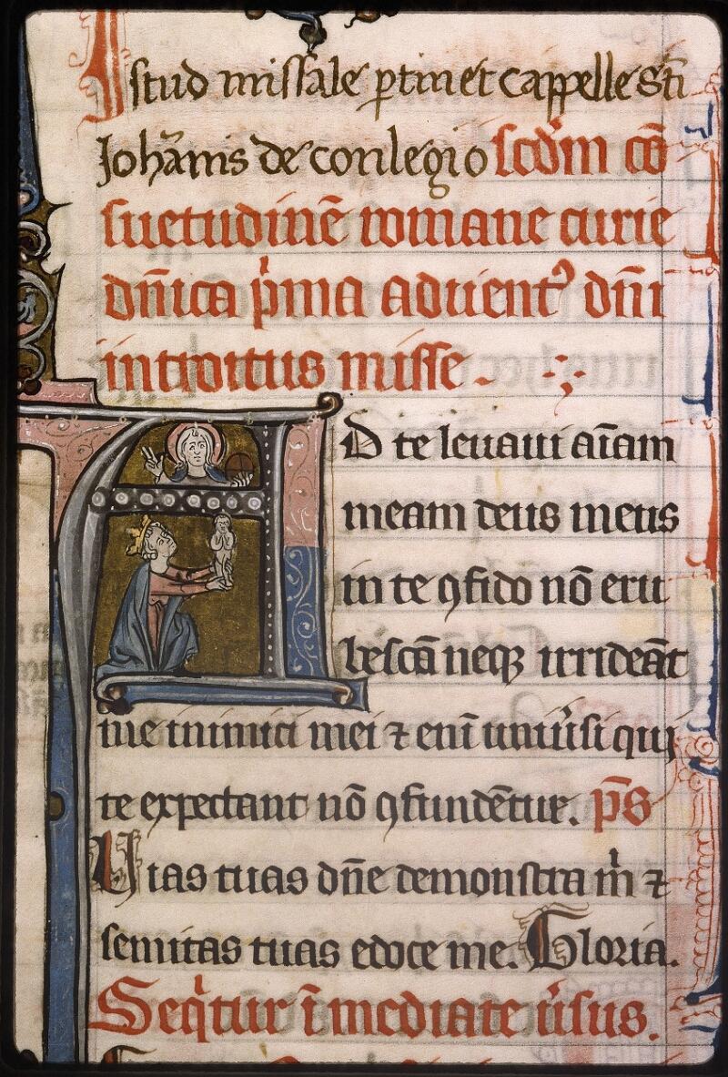 Lyon, Bibl. mun., ms. Palais des Arts 037, f. 008 - vue 3