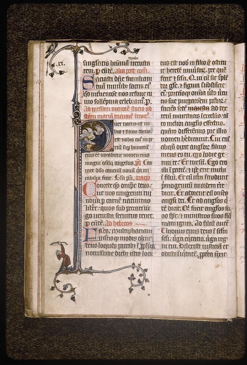 Lyon, Bibl. mun., ms. Palais des Arts 037, f. 018v - vue 1