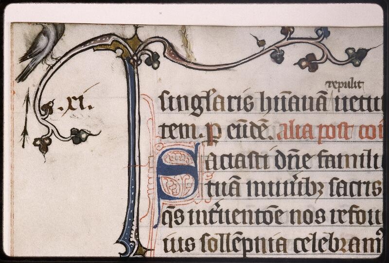 Lyon, Bibl. mun., ms. Palais des Arts 037, f. 018v - vue 3