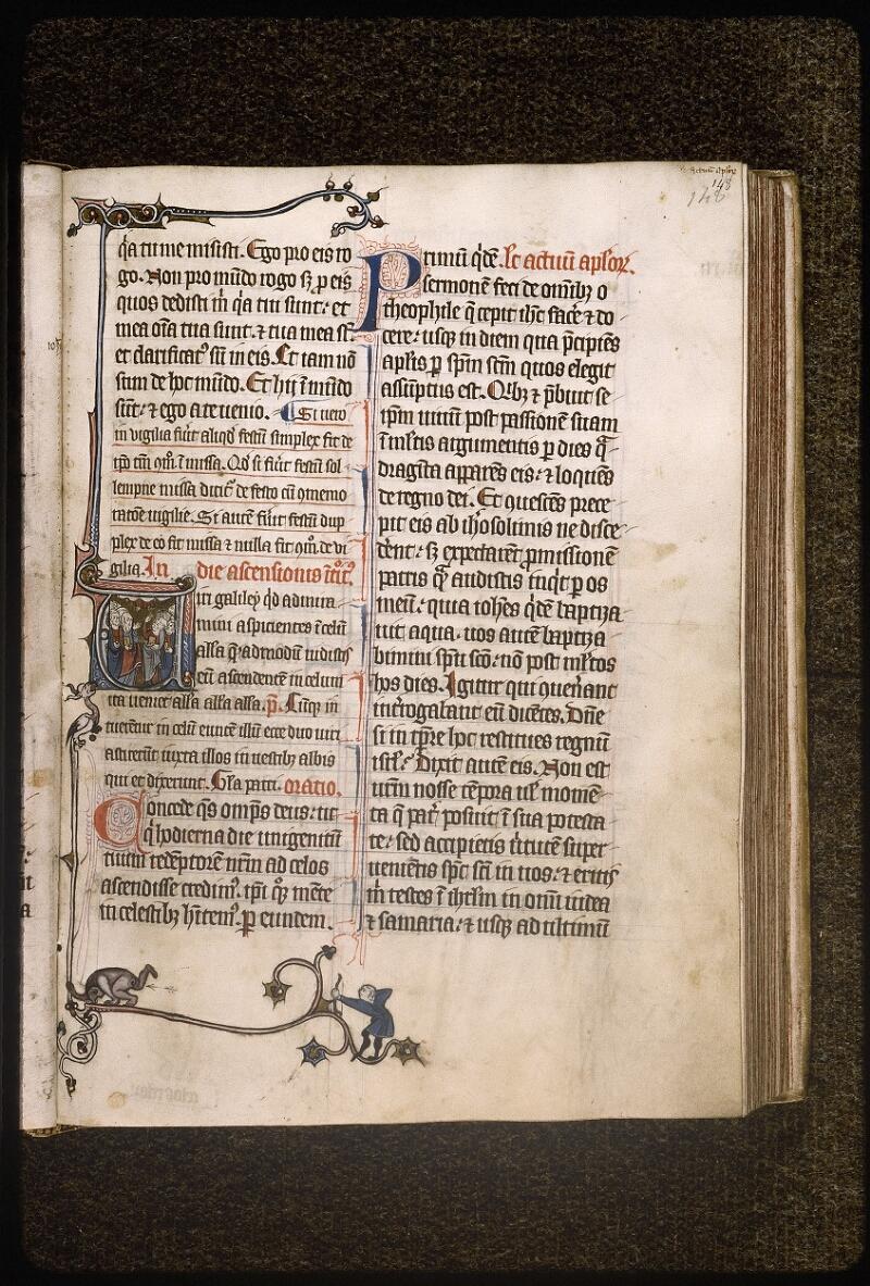 Lyon, Bibl. mun., ms. Palais des Arts 037, f. 148 - vue 1