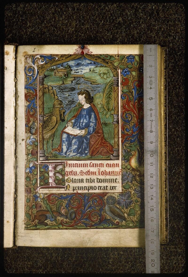 Lyon, Bibl. mun., ms. Palais des Arts 038, f. 015 - vue 1