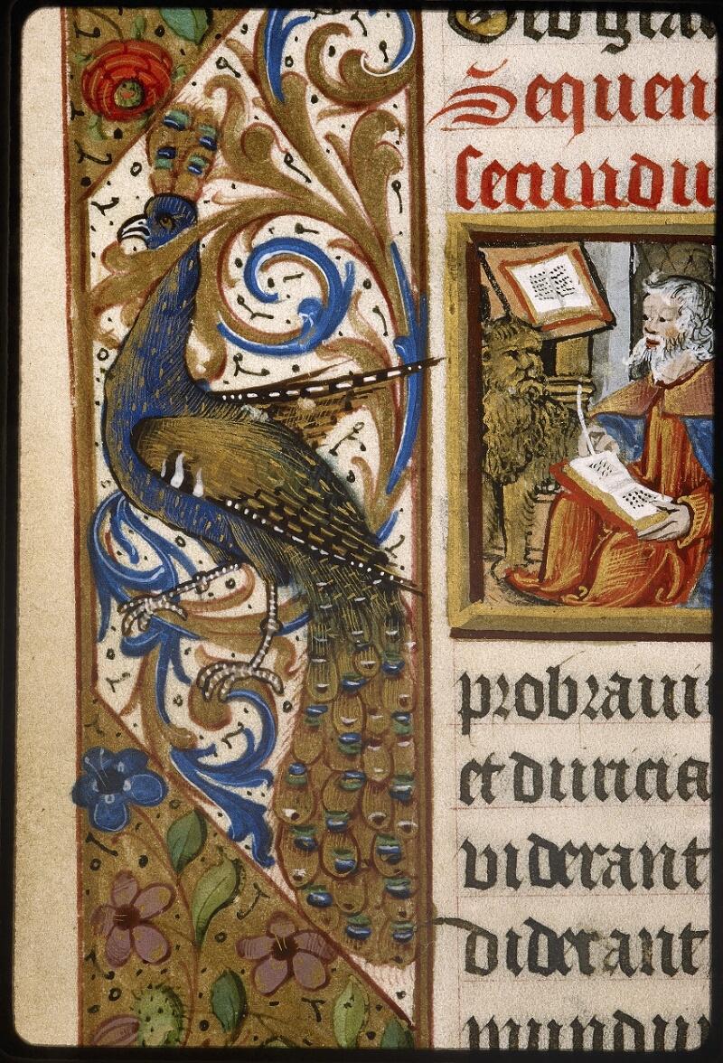 Lyon, Bibl. mun., ms. Palais des Arts 038, f. 019v - vue 3