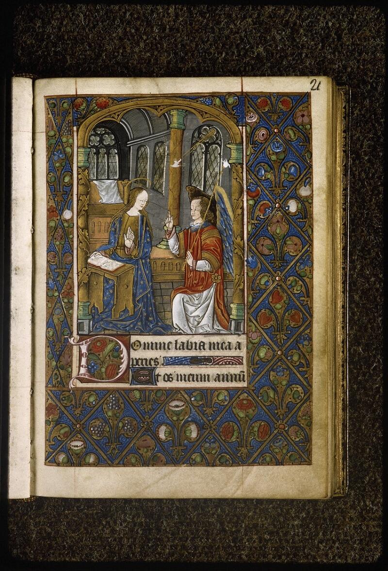 Lyon, Bibl. mun., ms. Palais des Arts 038, f. 021 - vue 1