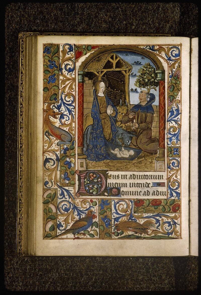 Lyon, Bibl. mun., ms. Palais des Arts 038, f. 041v - vue 1