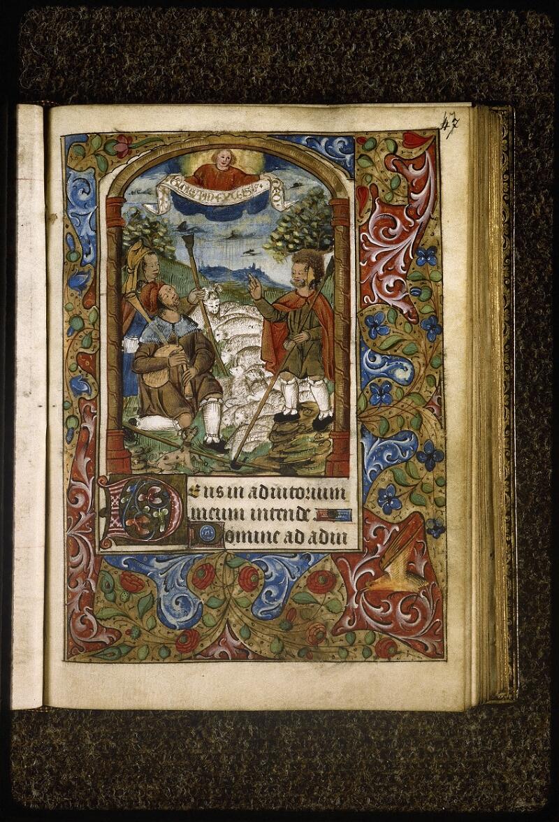 Lyon, Bibl. mun., ms. Palais des Arts 038, f. 047 - vue 1