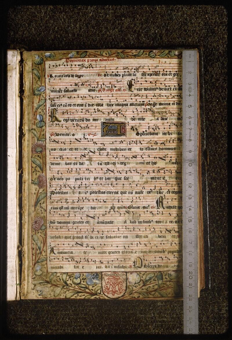 Lyon, Bibl. mun., ms. Palais des Arts 039, f. 001 - vue 1