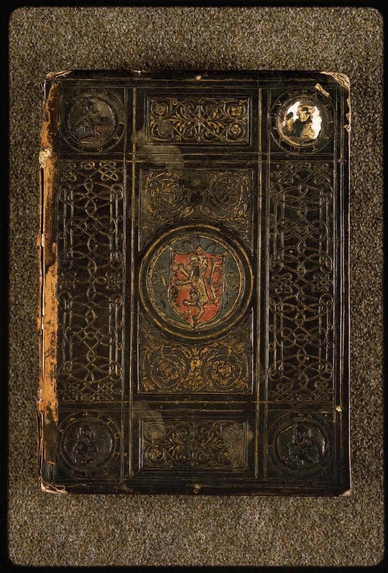 Lyon, Bibl. mun., ms. Palais des Arts 047, reliure plat sup. - vue 1