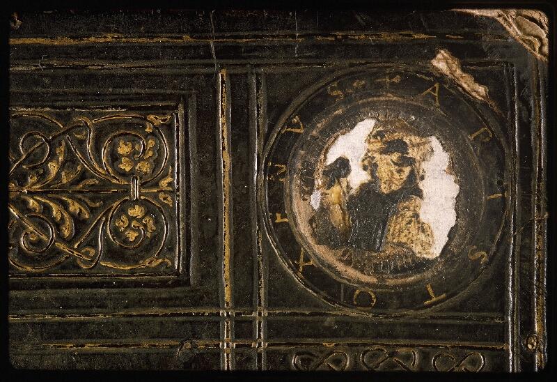 Lyon, Bibl. mun., ms. Palais des Arts 047, reliure plat sup. - vue 4