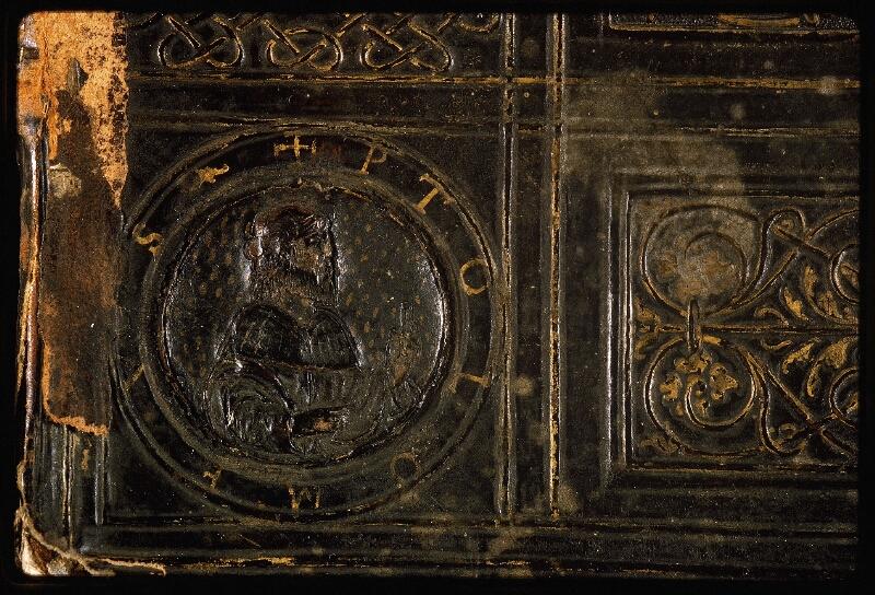 Lyon, Bibl. mun., ms. Palais des Arts 047, reliure plat sup. - vue 5