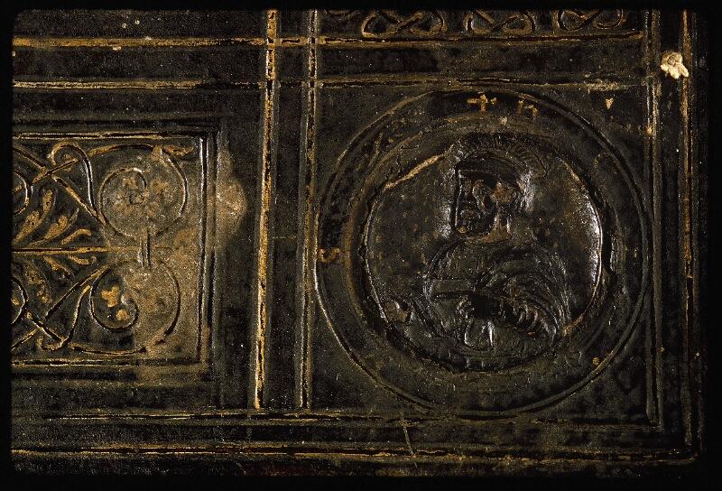 Lyon, Bibl. mun., ms. Palais des Arts 047, reliure plat sup. - vue 6