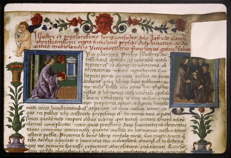 Lyon, Bibl. mun., ms. Palais des Arts 047, f. 003 - vue 3