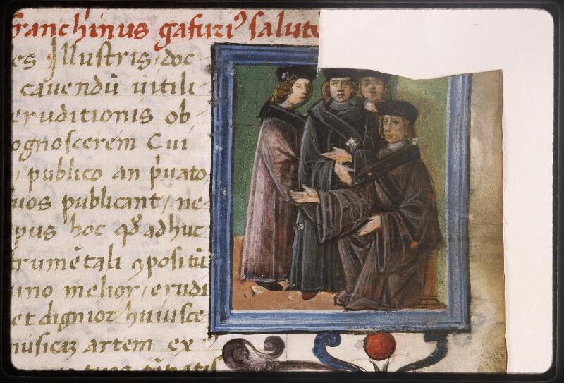 Lyon, Bibl. mun., ms. Palais des Arts 047, f. 003 - vue 5