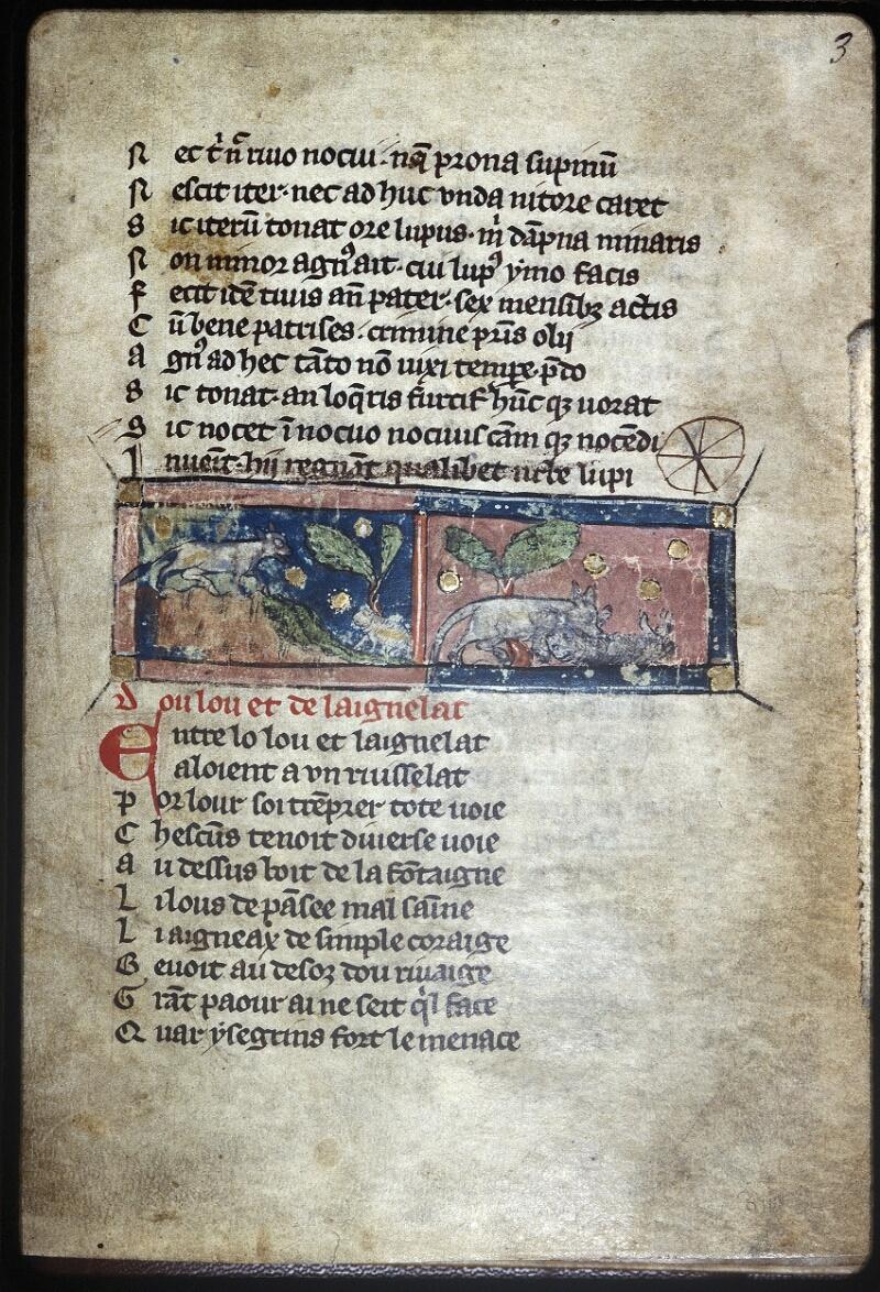 Lyon, Bibl. mun., ms. Palais des Arts 057, f. 003 - vue 1