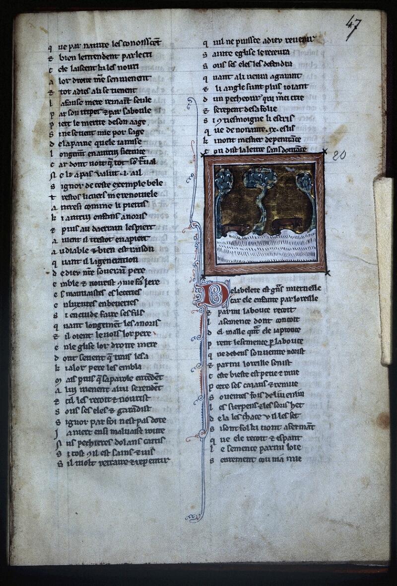 Lyon, Bibl. mun., ms. Palais des Arts 078, f. 047 - vue 1