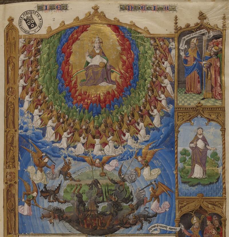 Mâcon, Bibl. mun., ms. 0002, f. 002 - vue 2