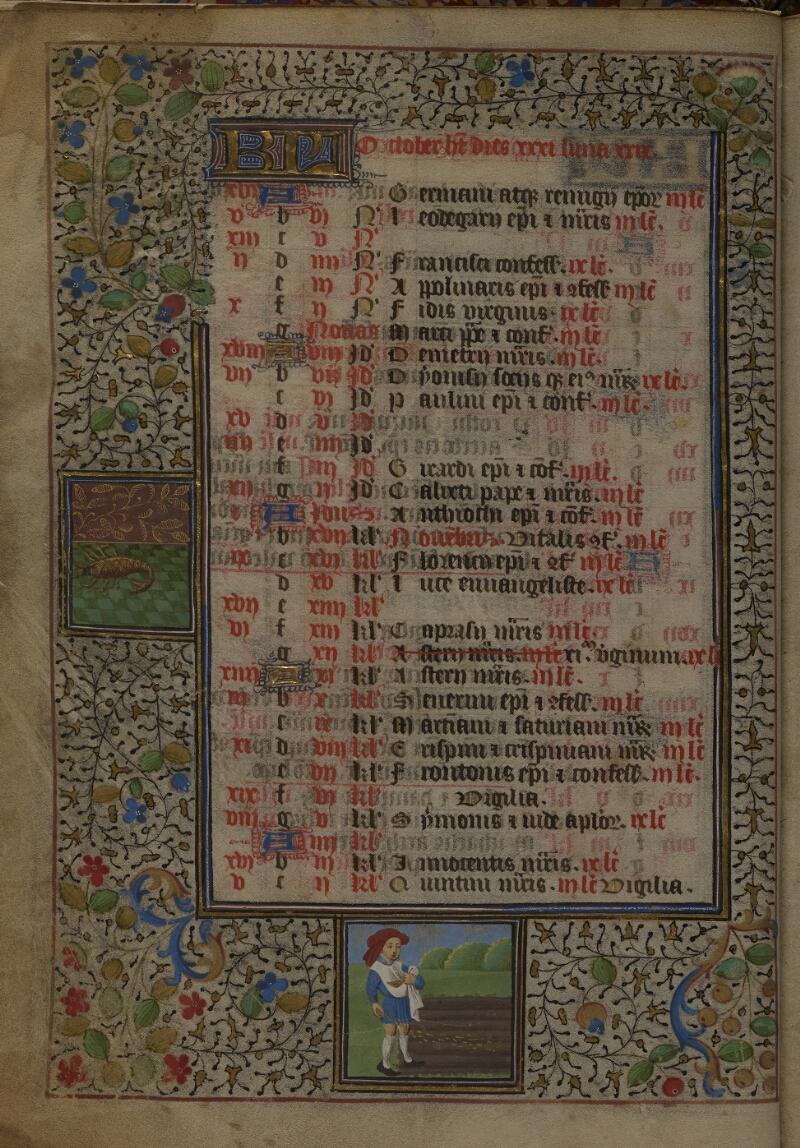 Mâcon, Bibl. mun., ms. 0103, f. 005v - vue 1