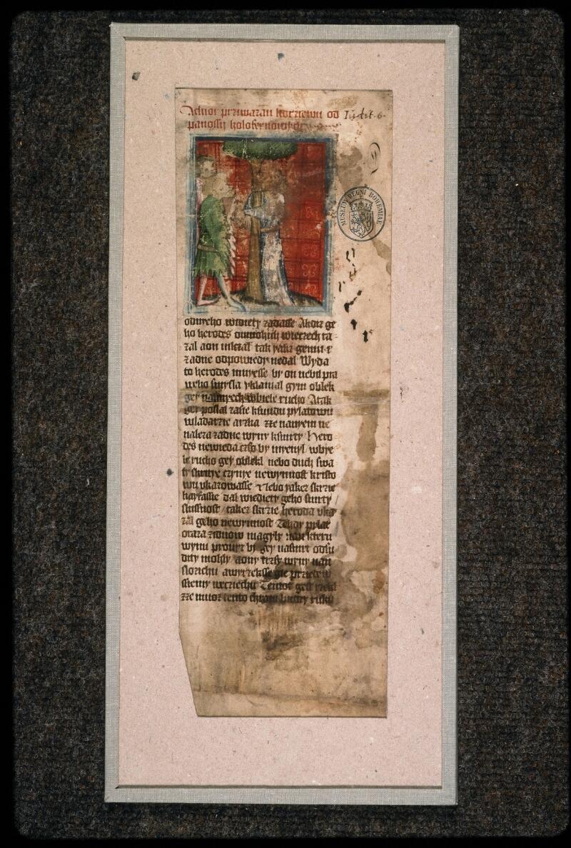Prague, Musée nat., Bibl., 1. A. c. 075, 1 - vue 2