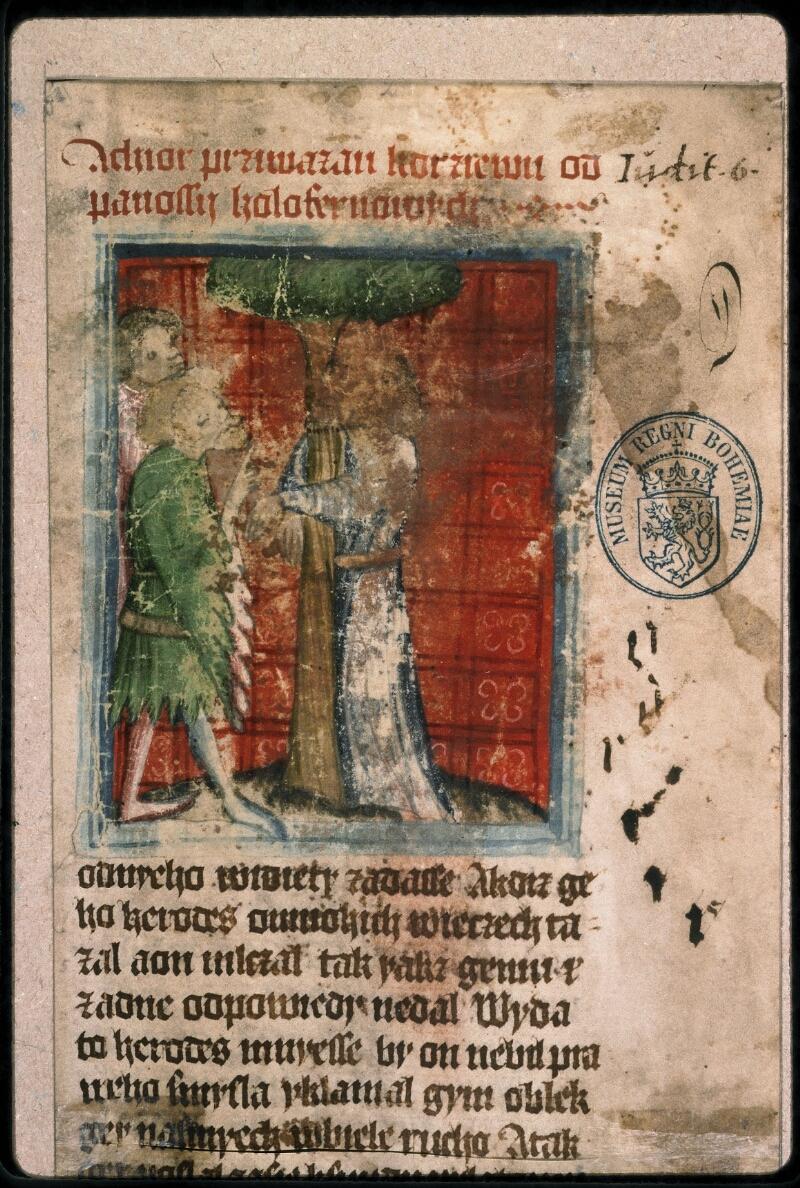 Prague, Musée nat., Bibl., 1. A. c. 075, 1 - vue 3