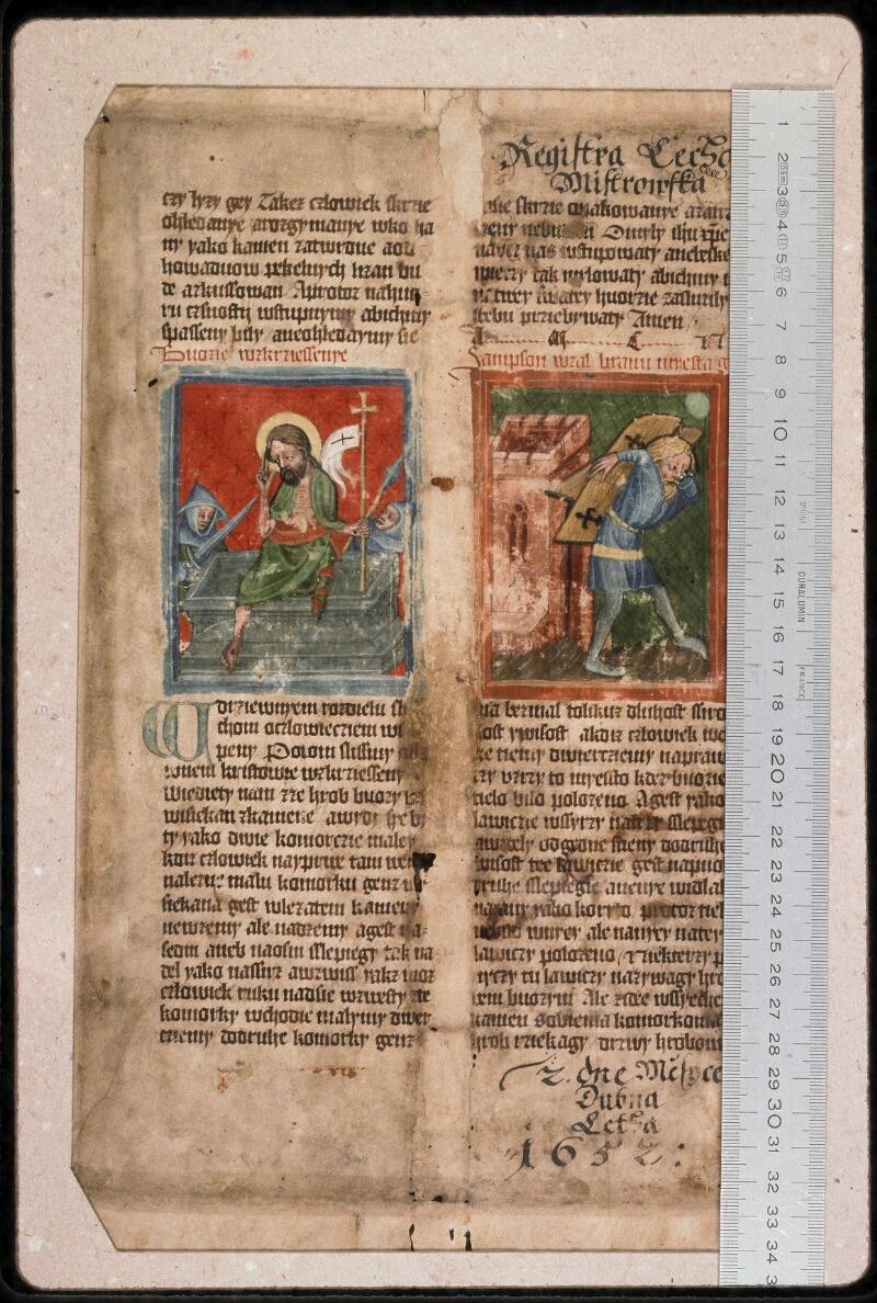 Prague, Musée nat., Bibl., 1. A. c. 075, 3 - vue 1