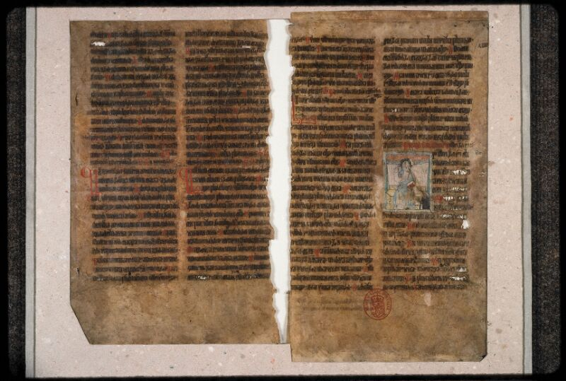 Prague, Musée nat., Bibl., 1. D. c. 001, 4 - vue 2