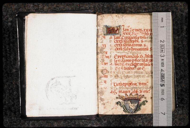 Prague, Musée nat., Bibl., Dusek 28, f. 001 - vue 1