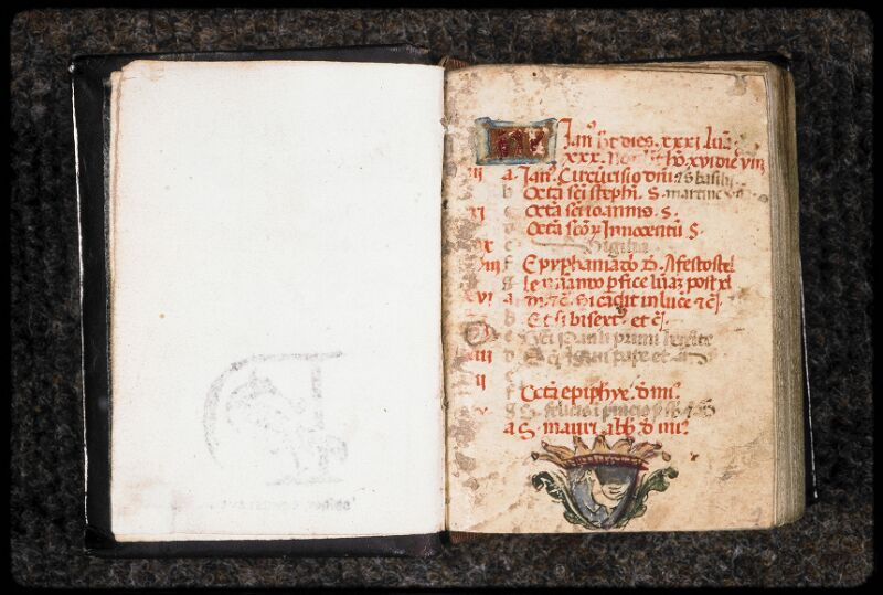 Prague, Musée nat., Bibl., Dusek 28, f. 001 - vue 2