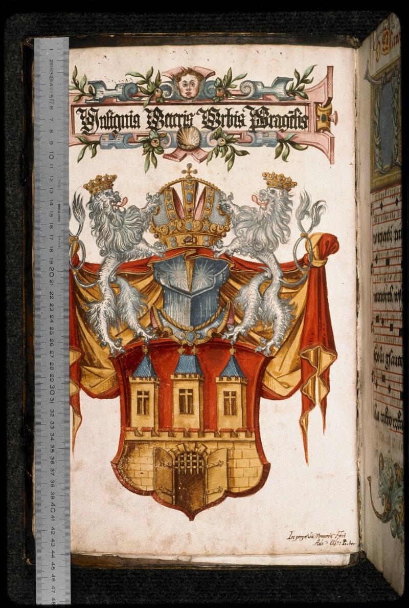 Prague, Musée nat., Bibl., I. A. 15, f. 004v - vue 1