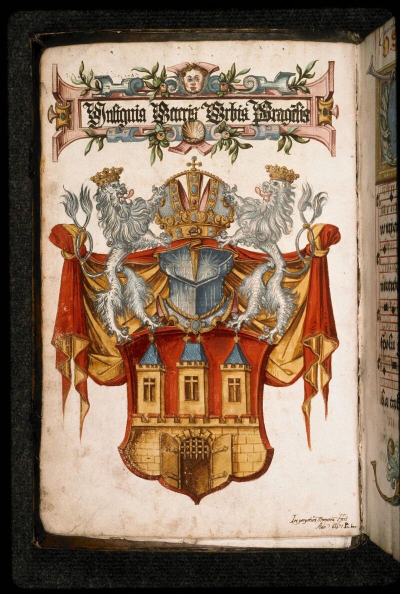 Prague, Musée nat., Bibl., I. A. 15, f. 004v - vue 2