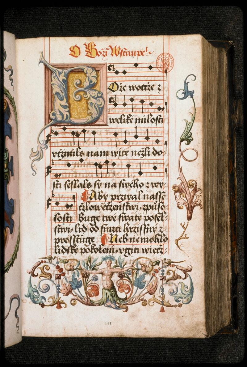 Prague, Musée nat., Bibl., I. A. 15, f. 111