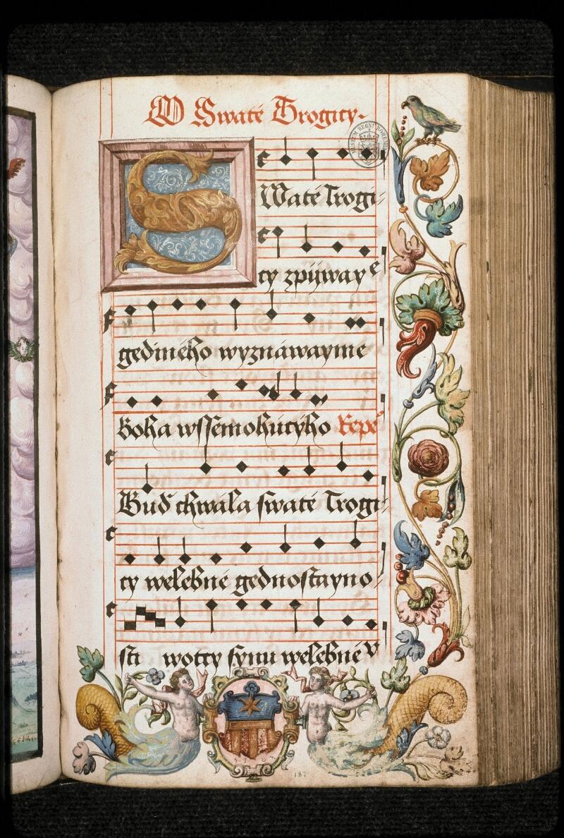 Prague, Musée nat., Bibl., I. A. 15, f. 187