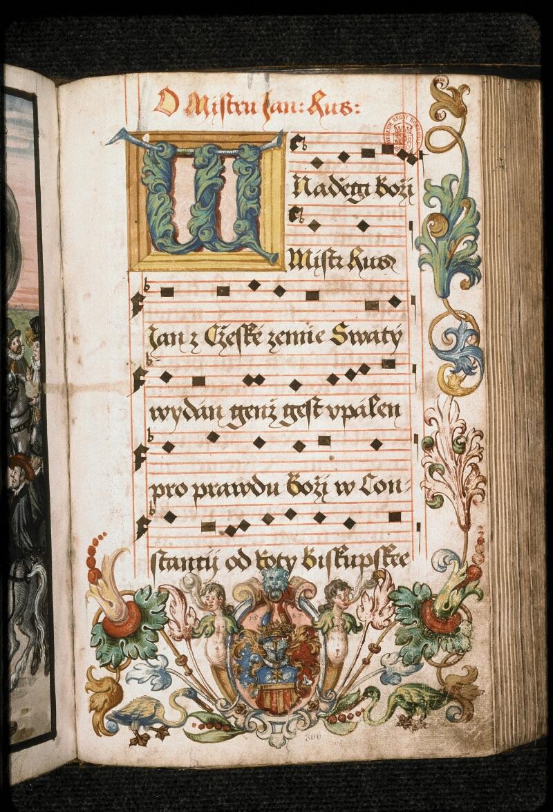 Prague, Musée nat., Bibl., I. A. 15, f. 306 - vue 1