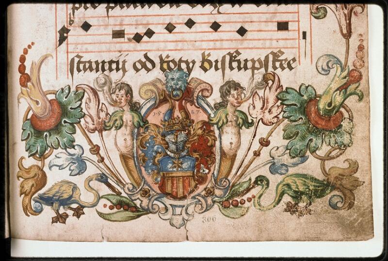 Prague, Musée nat., Bibl., I. A. 15, f. 306 - vue 2